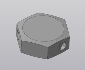 Шестигранник в Компас 3D