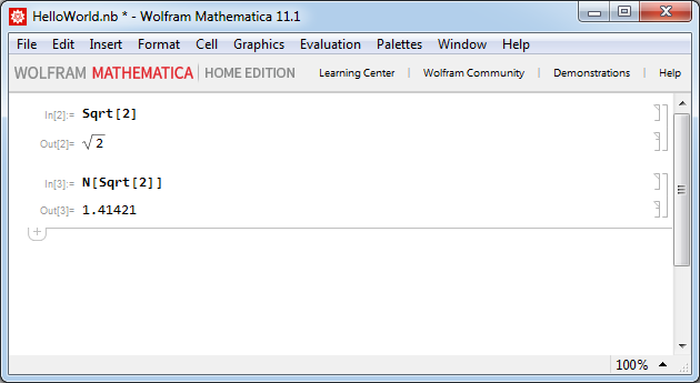 Mathematica - Численное представление результата